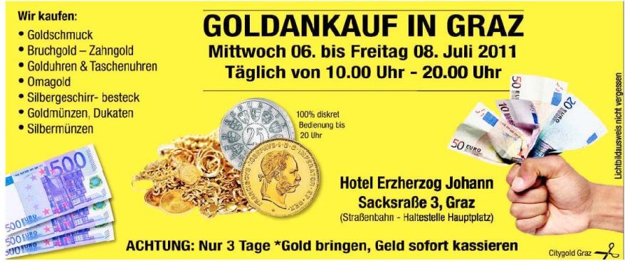 Schmuck Ankauf Goldankauf In Graz ögussa Goldkurs Heute