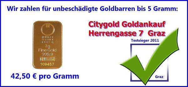 goldbarren verkaufen und gold kaufen in graz beim. Black Bedroom Furniture Sets. Home Design Ideas