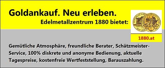 Edelmetallzentrum 1880 - Goldhandel und Münzhandel Graz