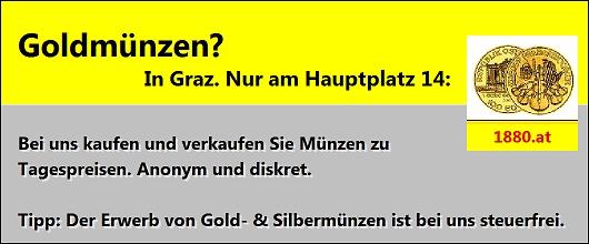 Goldmünzen kaufen Graz - Münzen verkaufen