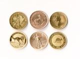10 tel Unzen 6 Stück Goldmünze Gold Ankauf Graz Münzhandlung - 1