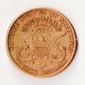 20 Dollar 1897 Rückseite Gold Foto Münzen Ankauf Graz Münzhandlung - 1