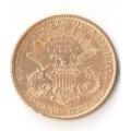 20 Dollar Goldmünze 1891 RS Münzen Ankauf Graz Goldankauf - 1