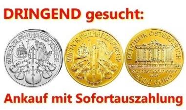 Goldmünzen kaufen - Preis Unze Gold Philharmoniker Tagespreis
