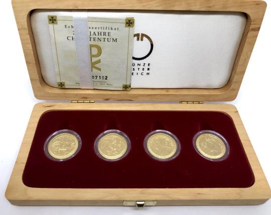 Christentum Goldmünzen Set inklusive Sammlerbox zu verkaufen Ankauf Münzen Münzhandlung Graz Münzhandel Münzshop Hauptplatz - 1